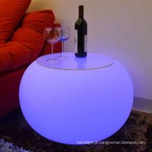 Moderna sala bar mini mobília Design LED para bar discoteca mobília conduzida iluminação flash tabela
