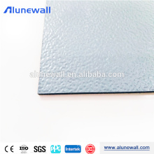 20 year warranty Embossed PVDF coated ACM aluminum composite panel 3mm/4mm/5mm
