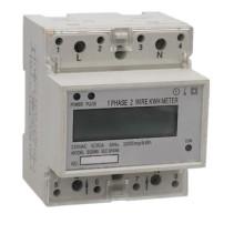 Single Phase DIN-Rail Smart Watt-Hour Meter with LCD/LED Digital Display