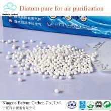 Sac non toxique naturel non toxique promotionnel de diatomée pour la purification de l'air sac de charbon actif de bambou