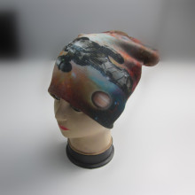 100% Polyester Full Print Winter Hat
