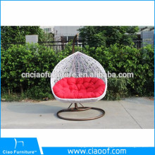 Cheap Factory Price Garden Furniture Set Rattan Egg Shaped Chair