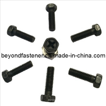 Screw Hex Bolts Hex Philips Screw Black Bolt DIN933