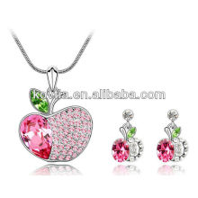 Ensemble de bijoux pendentif pour pommes