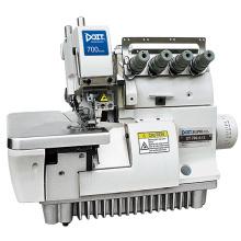 Machine à coudre de surjet de DT700-4 à grande vitesse pour le gant de toilette