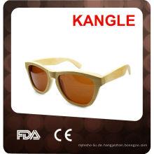 Polarisierte Sonnenbrille der fördernden Modeholzbeschaffenheit