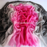 PK17C13BR ultralight ombre cashmere scarf