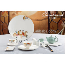 Набор столовых приборов для столовых приборов в стиле кантри для гостиниц и ресторанов