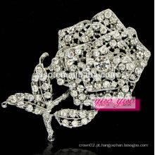 Acessórios de moda crepúsculos abertos com broche de cristal esquerdista