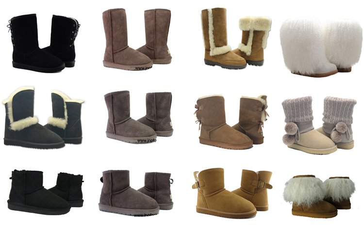 Genuine Sheepskin Boots Womens