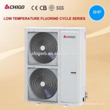 Etiqueta de la energía de Europa 18kW CHIGO DC inversor dividió el calentador de agua de la pompa de calor del aire para el sitio de la calefacción del invierno -25C