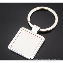Guangzhou Factory Metal Blank Schlüsselanhänger mit Logo