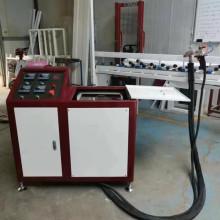 Machine d'extrudeuse de butyle thermofusible en verre isolant