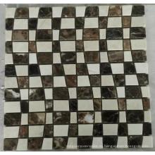 Новая мраморная мозаичная плитка из камня (HSM219)