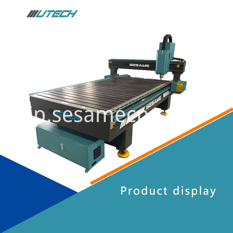 Router Machine for Metal