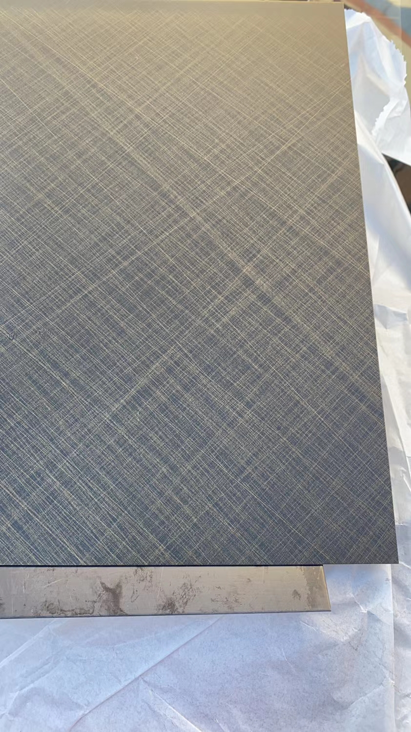 Colored Etched Stainless Steel Sheet