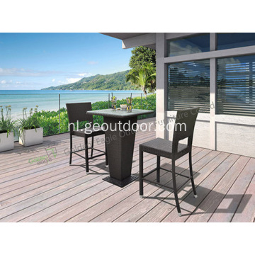 Outdoor Wicker Dining 5-delige set