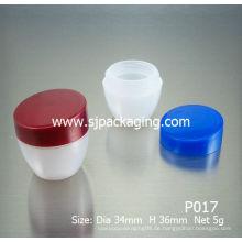 5g PP Gläser billige Kosmetikgläser