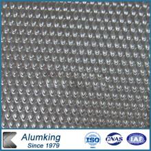 Plateau en aluminium Orange Peel 1050/1060/1100