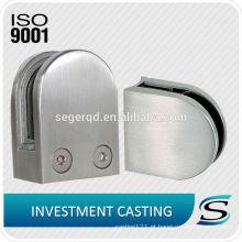 Braçadeira de vidro de aço inoxidável AISI304 / 316