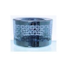 Glass Laser Engraved Tealight Candle Holder