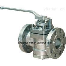 Válvula macho de alta pressão com flange (AX47W)