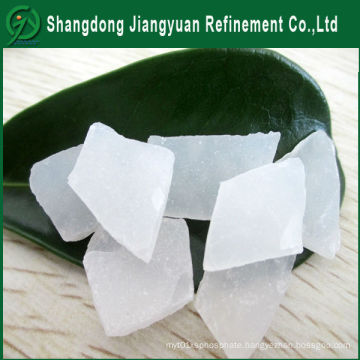 2-5mm White Granular Non-Ferric Aluminum Sulphate for Water Treatment Use