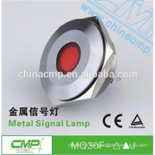 CMP 6 colors metal indicator red led 30mm 12v light (or other size)