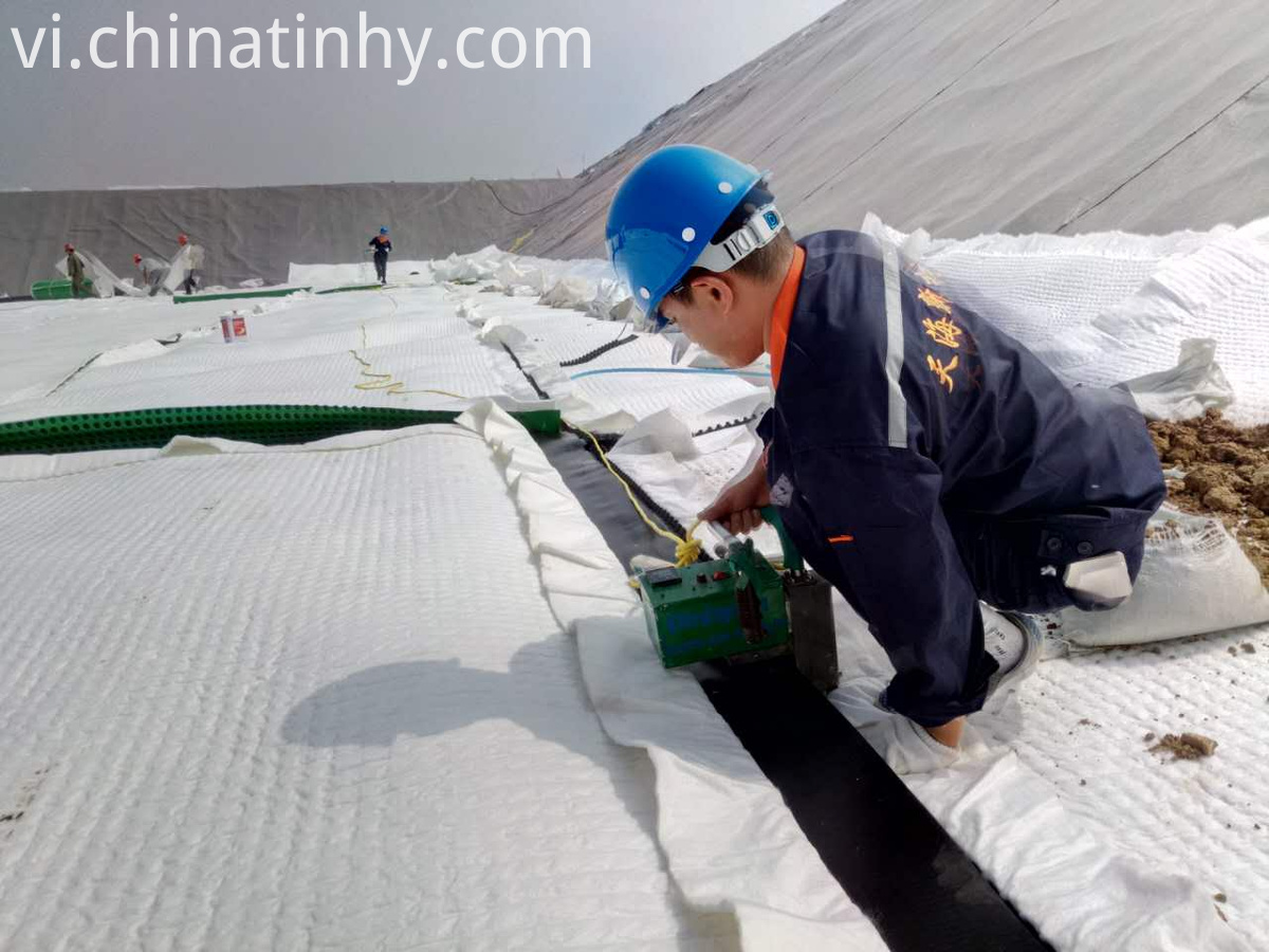 polyester woven geotextile service