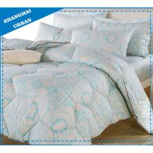 100% coton taie d'oreiller ensemble de couette (couette)