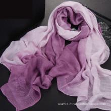 Nouveau design tie dye walf vérifie l'écharpe 2016