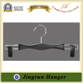 Europe Bestselling Lingerie Hanger Black Plastic Hanger With Bar
