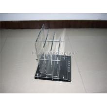Custom Design Bed Sheet Loja de varejo Pure Acrylic Table Top Comercial Publicidade Product Display