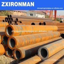 Poids de l'unité prix pilier en acier Tubes/tuyaux hydraulique