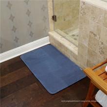 Tapis de flanelle de mousse de mémoire de plancher en gros pour des bébés
