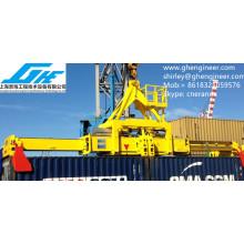 Twin-Lift Hydraulic Espalhador telescópico para contentores
