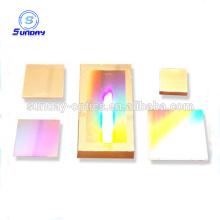 Oferta de fábrica côncavo holográfico Vidro óptico ralar 30mm quadrado