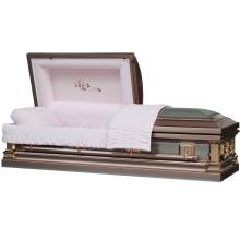 Symphonie en acier inoxydable USA cercueil