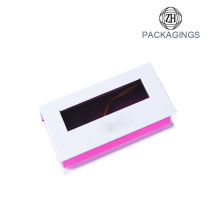 Custom+eyelash+box+pvc+window+pink+box