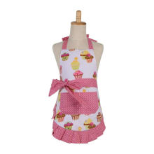 lovely apron custom logo,kitchen Apron set,for parents-child design