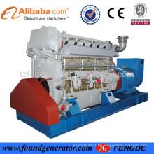 BV genehmigt ZiChai 250KW Marine Diesel Generator zum Verkauf