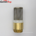 "GUTENTOP 1/2"" female spring water line brass check valve with brass core"