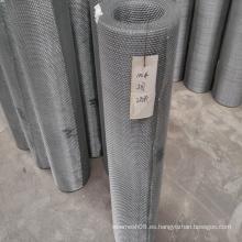 Malla de alambre cuadrado prensado galvanizado
