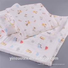 Respirer le tissu de couverture de bébé en gros