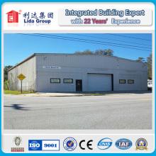 Entrepôt en acier préfabriqué