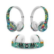 Original Protective Skin Sticker for Beats Solo 2 Headset Wrap Cover for Beats Solo 3 Wireless Headphone