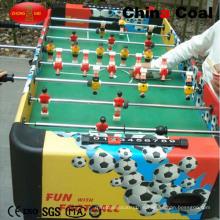 Mini mesa de juego de fútbol de fútbol negro o marrón