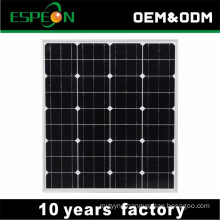 18V 80W mono solar panel for Middle East, South East , Africa market