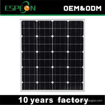 Рынок 18В 80 Вт моно солнечные панели для Ближнего Востока, Юго-Восточной , Африке