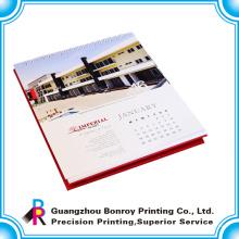 China heiß-Verkauf benutzerdefinierte Farbdruck Tisch Weihnachten Kalender